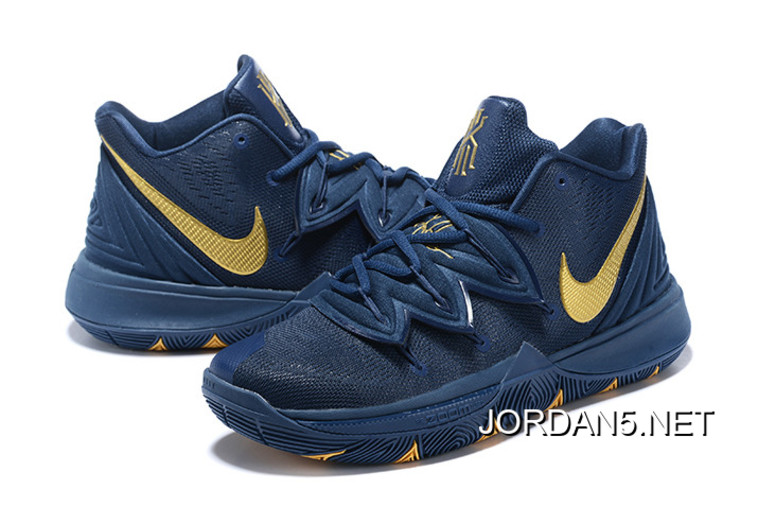"buy cheap f4619 b6436 New Release Nike Kyrie 5 ""Philippines"" Navy Blue/Gold"