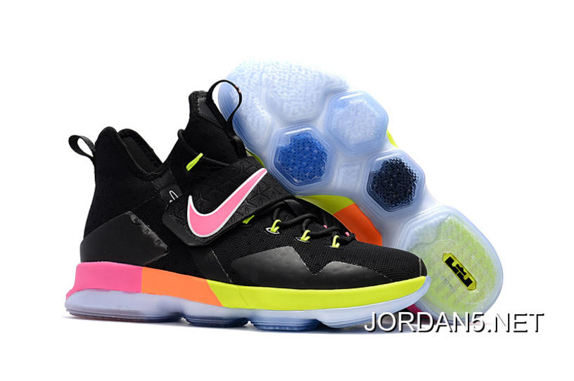 "e431c02bfa5e Super Deals Nike LeBron 14 ""Black Rainbow"""