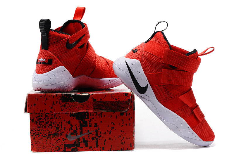 "4686afa89e49 Nike LeBron Soldier 11 ""University Red"" Top Deals"