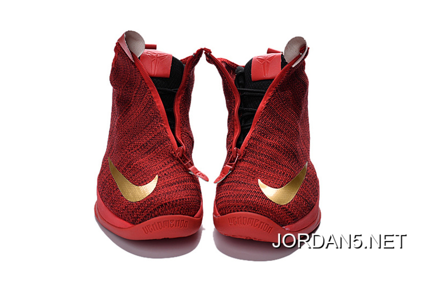 promo code b1480 7687a For Sale Nike Zoom Kobe Icon University Red Metallic Gold