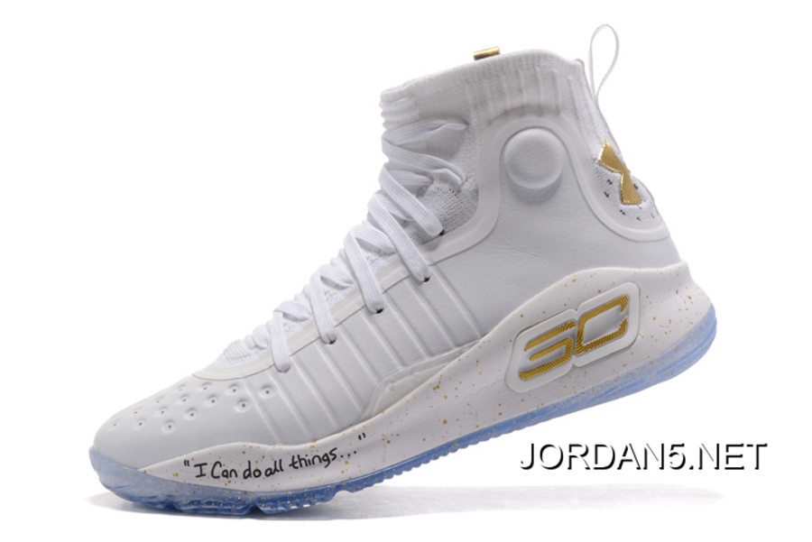 e376ae7cdd1 Under Armour Curry 4 White Gold NBA Finals Outlet